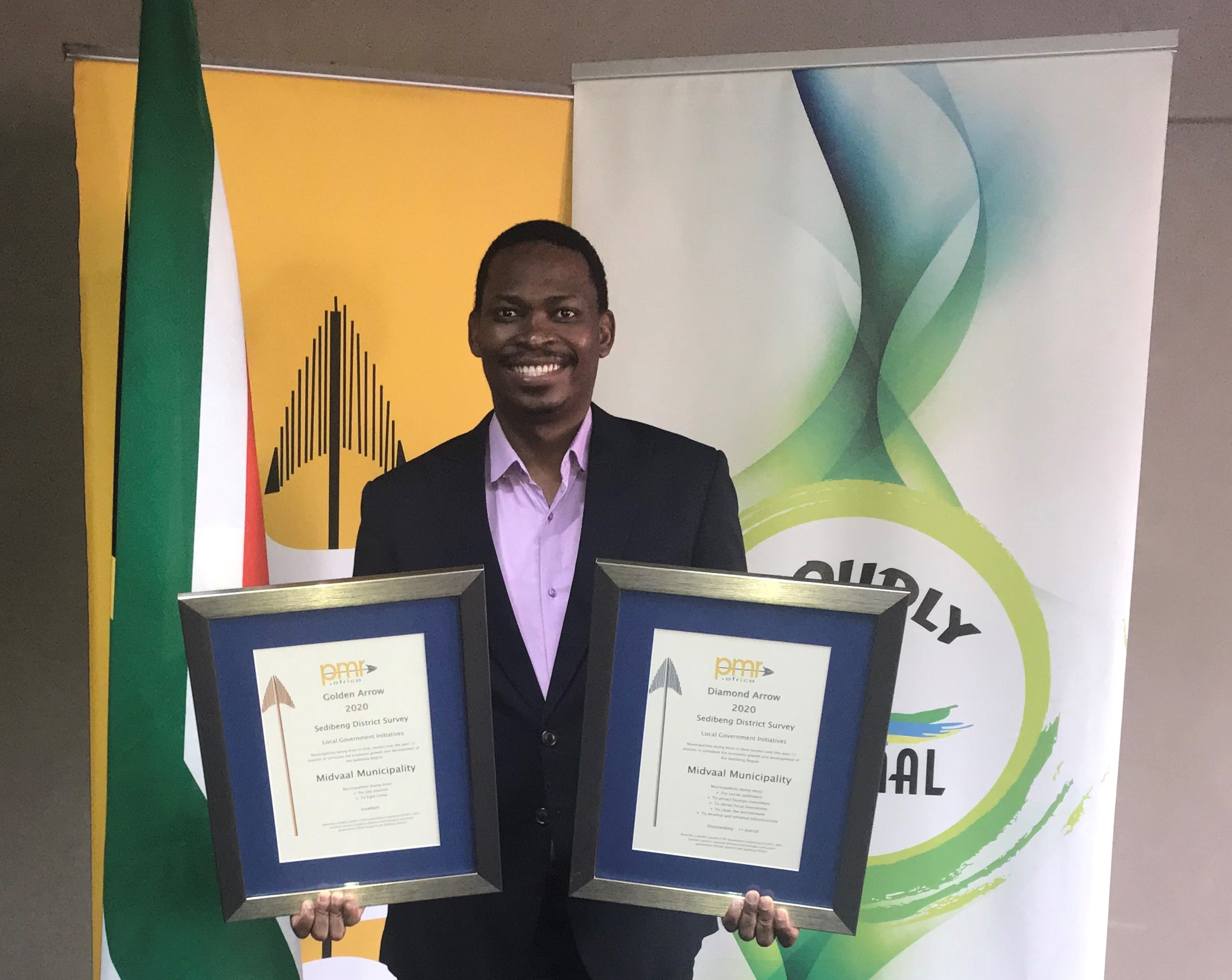 Midvaal Local Municipality Continues to Scoop More Awards for Sterling Performance.