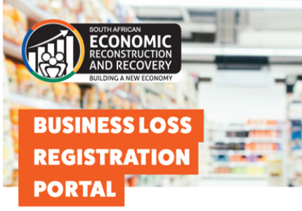 Business Loss Registration Portal to register Businesses affected by the July 2021 Unrest